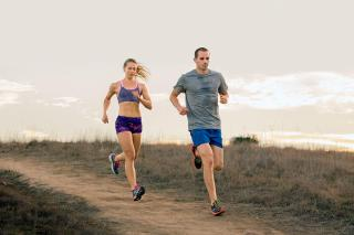downhill-running